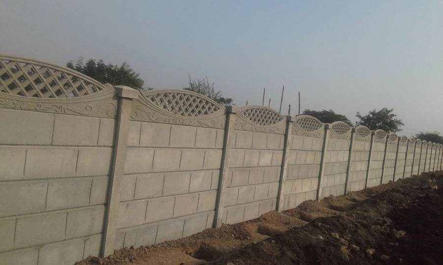 Boundary Wall With Compound : Alam enterprises